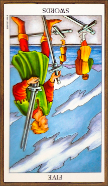 Five of Swords (reversed)