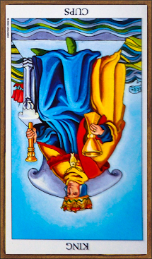 King of Cups (reversed)