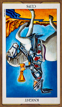 Knight of Cups (reversed)