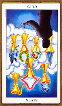 Seven of Cups (reversed)