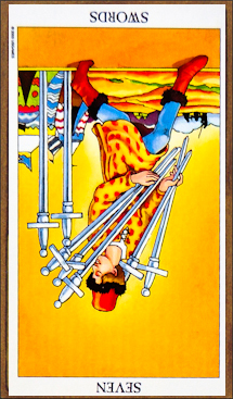 Seven of Swords (reversed)