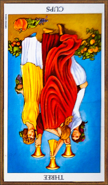 Three of Cups (reversed)