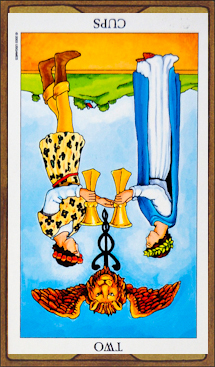 Two of Cups (reversed)